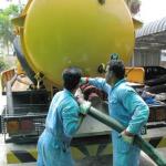 Hút bể phốt tại Gia Lâm giá cực rẻ Hà Nội