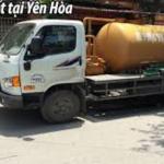 Hút bể phốt Yên Hòa Cầu Giấy cực nhanh sạch 99%