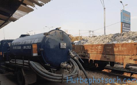 Báo giá hút bể phốt tại Nam Dư