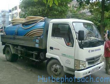 Hút bể phốt tại Trương Định uy tín, giá rẻ nhất