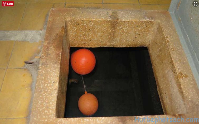 Cách thau rửa bể nước ăn