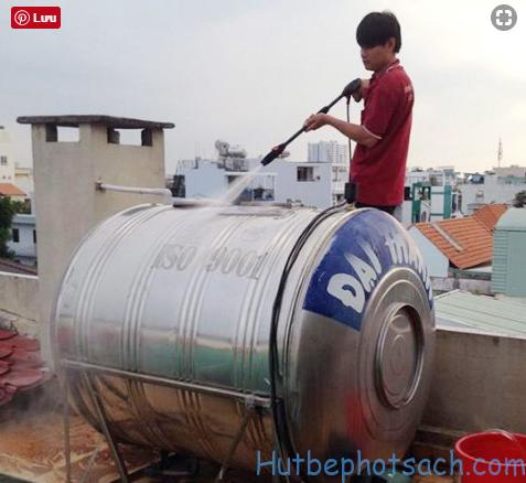 Dịch vụ vệ sinh bồn nước inox