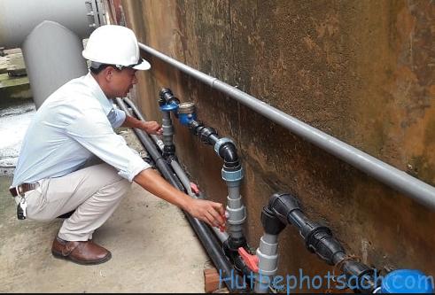 Thông tắc đường ống nước sạch