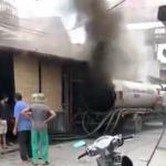 Xe Hút Bể Phốt tại Hưng Yên phát nổ, một thợ hàn tử vong.