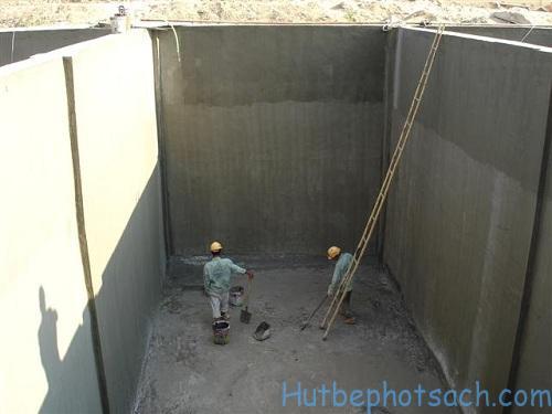 Cách xây bể nước ngầm