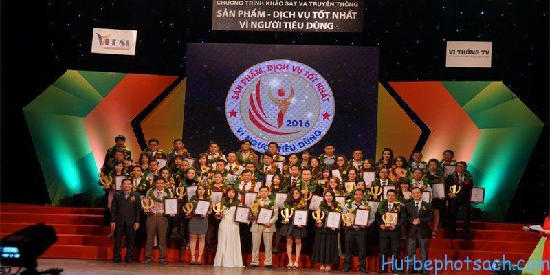 Hút bể phốt sạch được vinh dự trao giải thưởng sản phẩm dịch vụ tốt nhất vì người tiêu dùng.