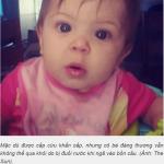 Bé gái 11 tháng tuổi thiệt mạng thương tâm do ngã vào bồn cầu nhà vệ sinh