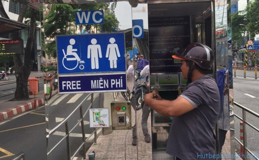 Kế hoạch xây dựng 1000 nhà vệ sinh công cộng tại Tp. HCM vẫn chưa hoàn thành