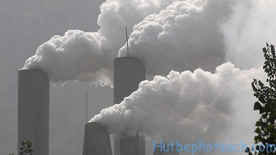 Khí thải từ hoạt động công nghiệp
