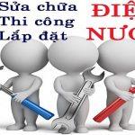 Dịch vụ sửa chữa điện nước giá rẻ tại Hà Nội