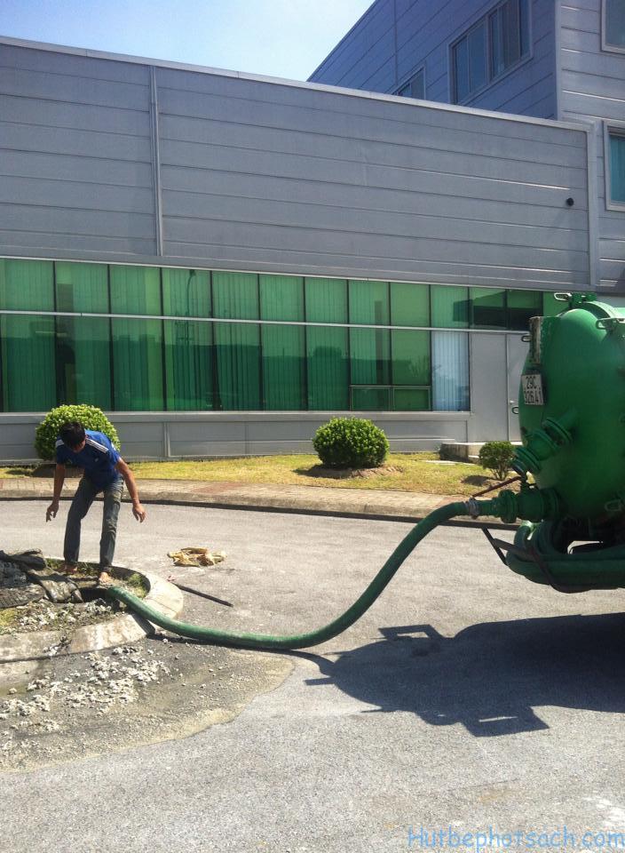Thi công hút bể phốt tại Hà Nam cho khu công nghiệp