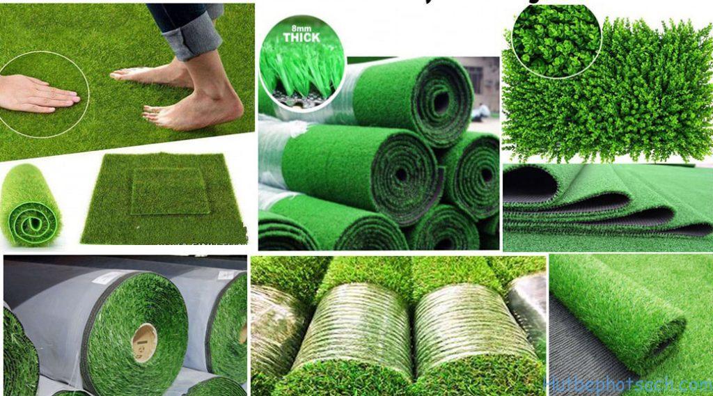 Thảm cỏ là nơi vui chơi của trẻ nên luôn cần được sạch sẽ